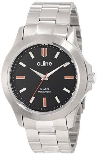 reloj a_line  gra plateado