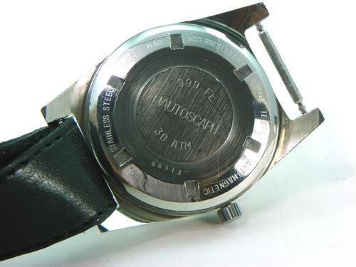 reloj alsta militar de 17 joyas, fechador cuerda automática.