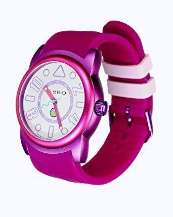 reloj aluminio berry púrpura femenino