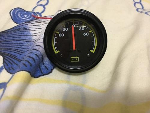 reloj amperímetro de batería