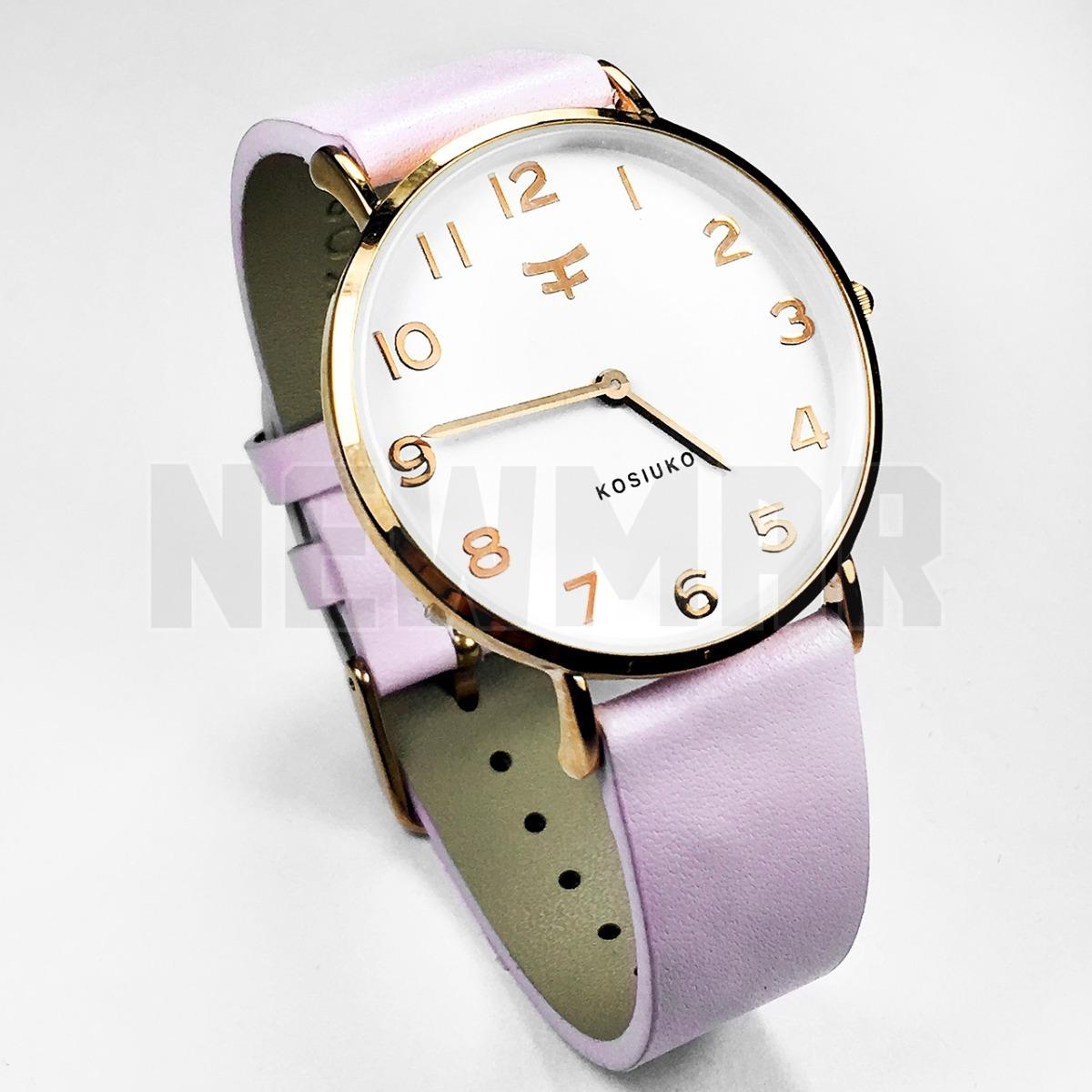 7ea1a08b4d49 Reloj Analógico Dama Malla Cuero Para Reciclar -   1.700
