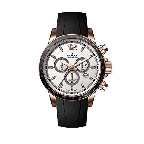 reloj analogico de cuarzo suizo cronorally s 44mm black rubb