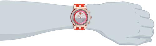 reloj analógico de cuarzo suizo rojo mulco unisex mw5-1621