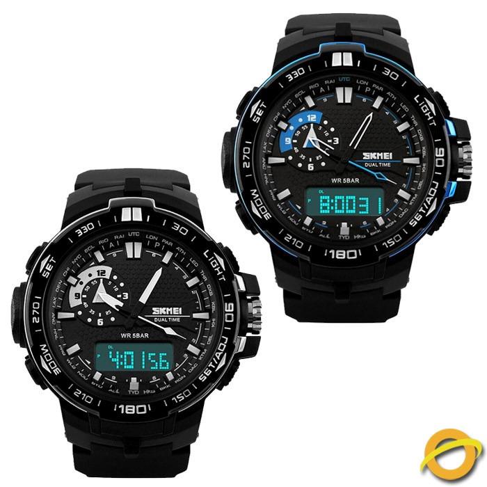 f76b33938b2c Reloj Analogico Digital Skmei Sumergible Crono Luz Ad1081 -   599