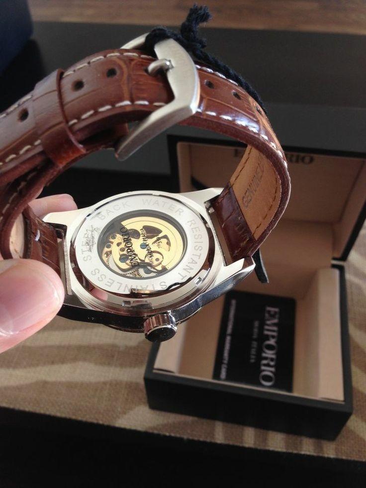 5b2b5d8e3c97 reloj analogico emporio moda italia carga con movimiento. Cargando zoom.