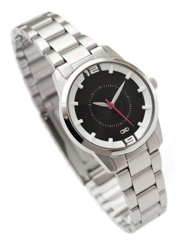 reloj analógico infinit petit - silver.blk