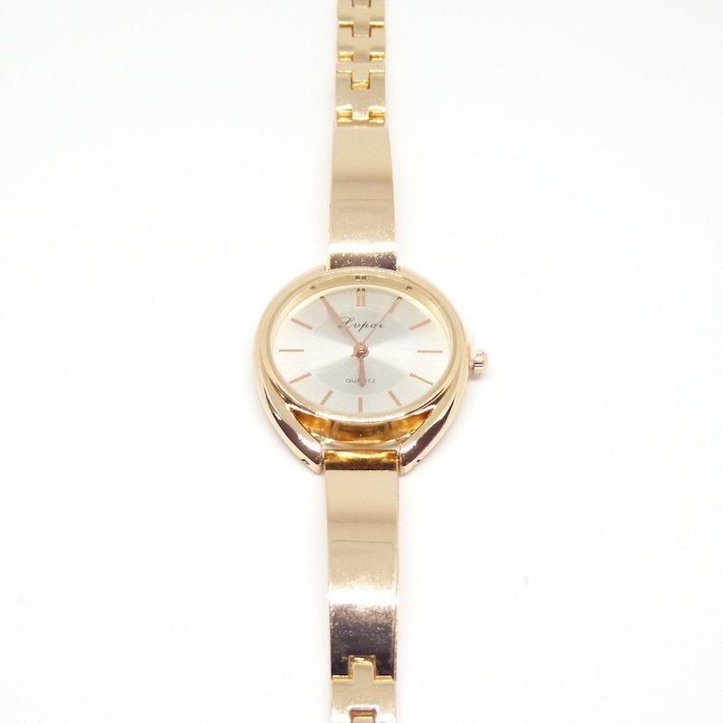 474025e97d89 reloj analogico pulsera mujer liso lp025 dorado rosa blanco. Cargando zoom.