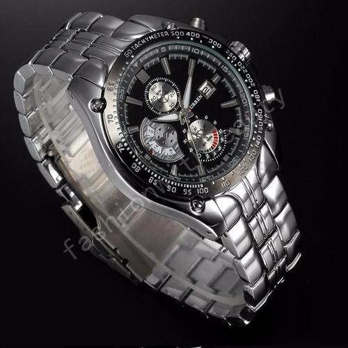 reloj analógico sport de lujo