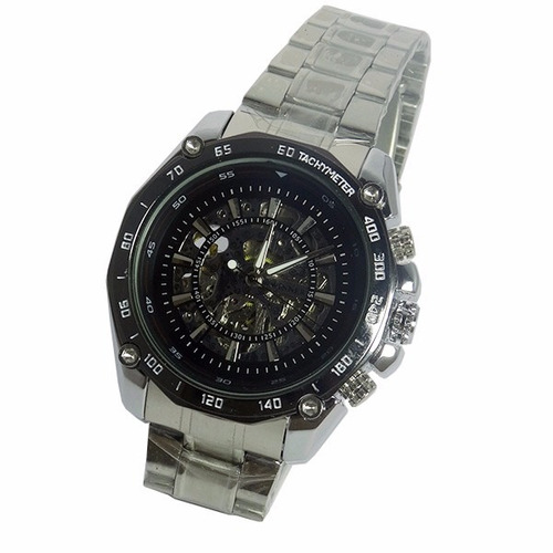 reloj análogo hombre winner skeleton