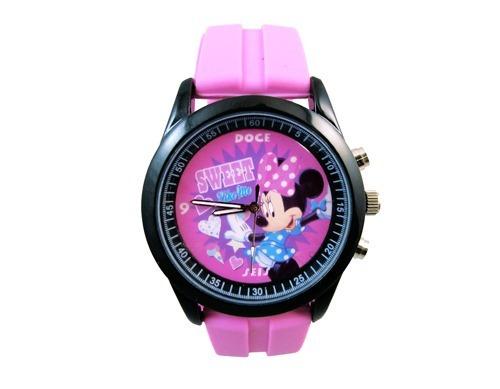 ea1082eea Reloj Análogo Minnie Mouse Con Estuche - $ 239.00 en Mercado Libre