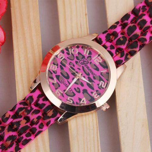 reloj  animal print + caja de regalo tienda virtual fvs