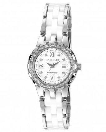 reloj anne klein 109457wtsv blanco