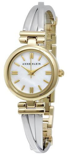 reloj anne klein acero inoxidable 2 tonos mujer ak/1171mptt
