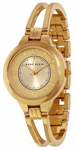 reloj anne klein acero inoxidable dorado mujer ak/1440chgb