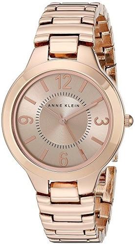 reloj anne klein ak/1450rgrg dorado