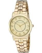 reloj anne klein  ak2278chgb original. mujer dorado