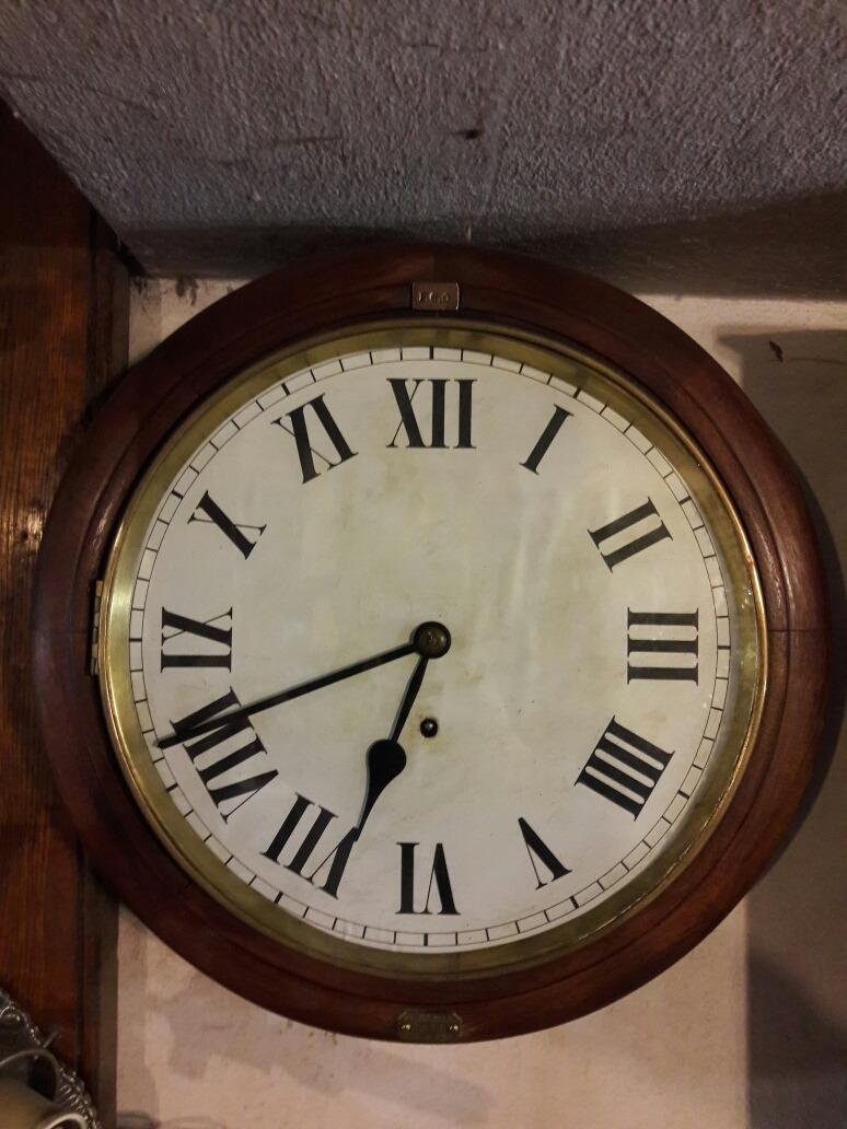 16eb13d80221 Reloj Antiguo A Cuerda De Ferrocarril