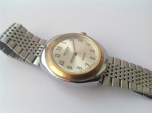 reloj antiguo citizen 17 joyas. cuerda. de los 70's funciona