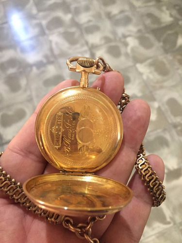 reloj antiguo de 1870 b. haas jeune & cie.
