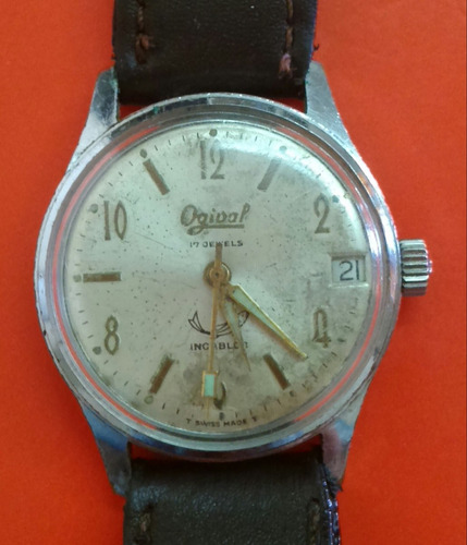 reloj antiguo de hombre  ogival