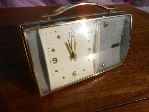 reloj antiguo de mesa suizo swiza mignon 4 jewels