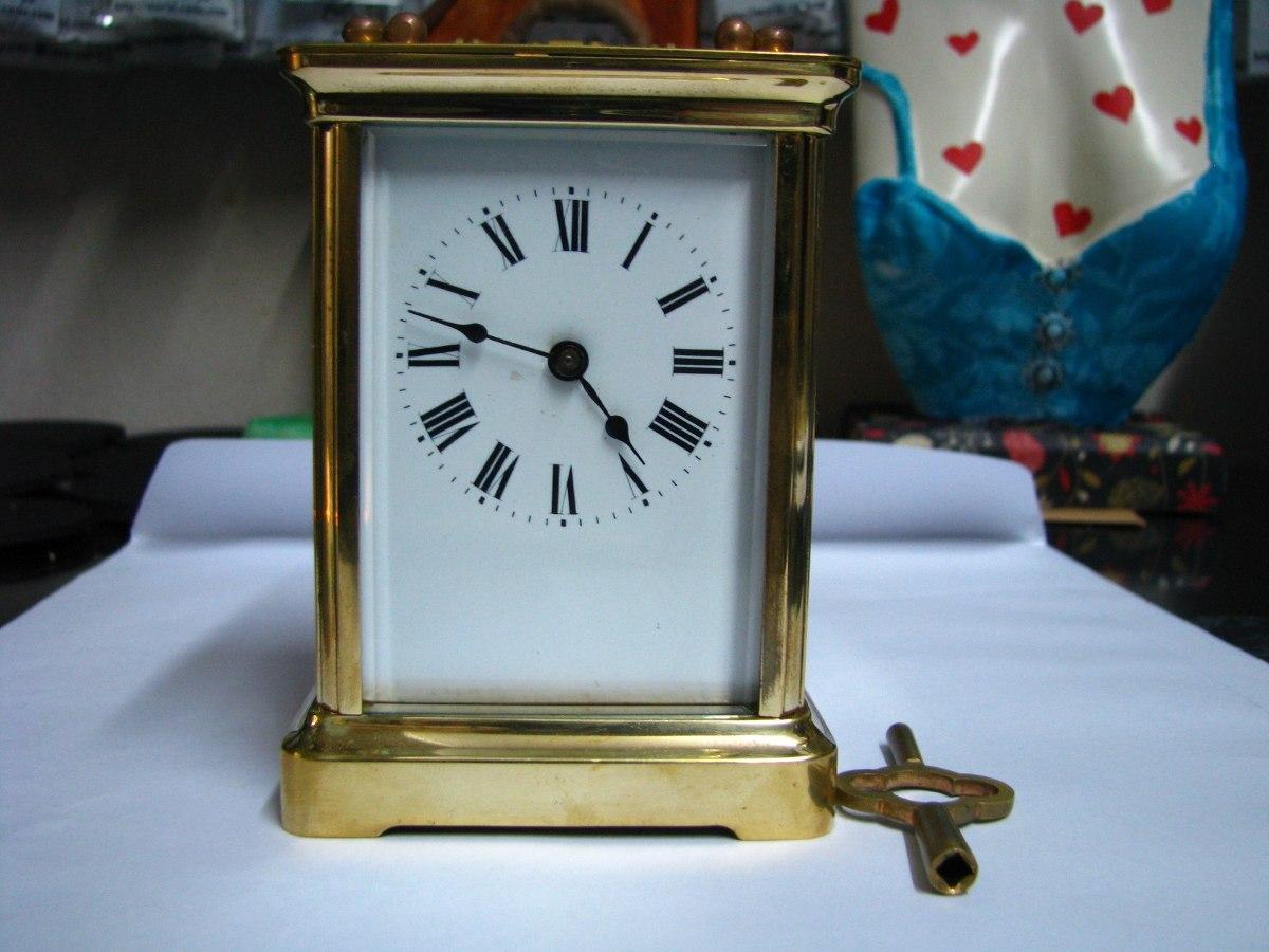 8bb9fd23f272 reloj antiguo paris a cuerda caja bronce vidrios biselados. Cargando zoom.