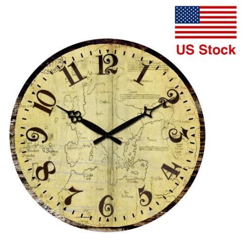 Reloj Antiguo Shabby Chic Hogar Cocina Decoración De... - $ 39.990 ...