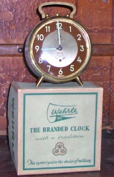 Reloj Antiguo Wehrle Made In Germany En Impecable Estado