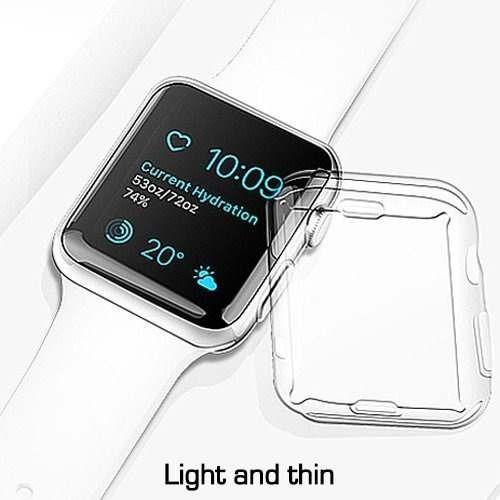 reloj apple serie 3 estuche 42mm 2 paquete tirio iwatch 3 es