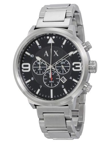 reloj armani exchange atlc cronógrafo acero hombre ax1369