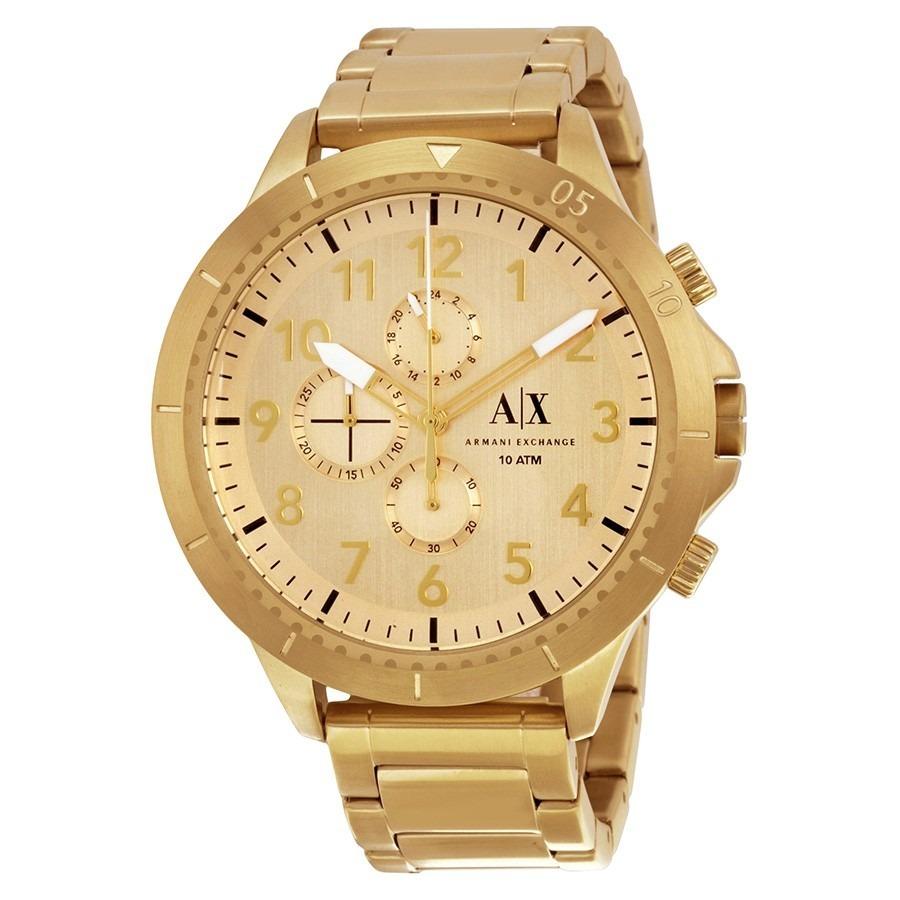 19b2b8171db6 Reloj Armani Exchange Ax Ax1752 Dorado