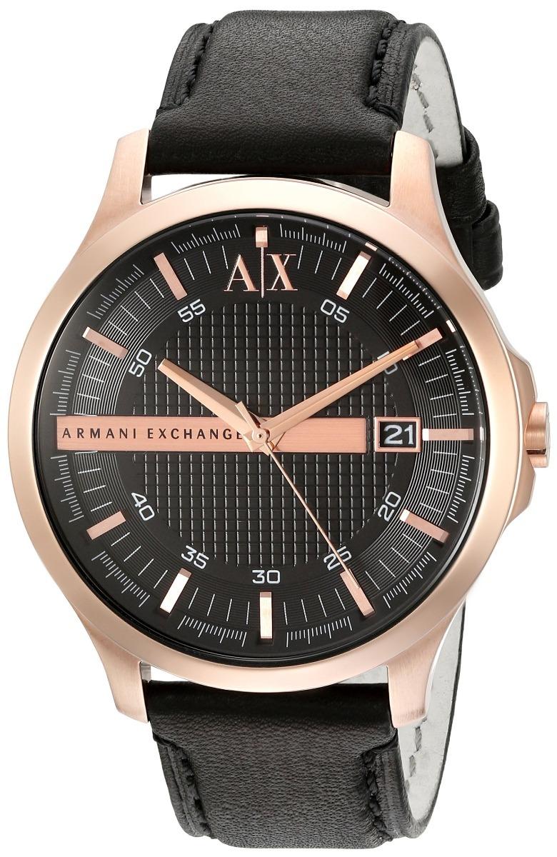 12006be31ea0 reloj armani exchange ax ax2129 negro- oro rosado original. Cargando zoom.
