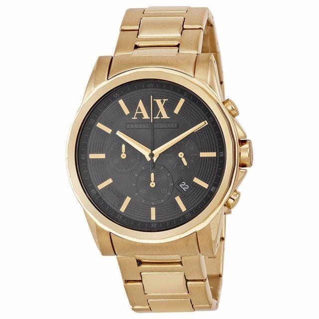 bbb8ab4ef675 Reloj Armani Exchange Ax Dorado Hombre Original Ax2095 -   3