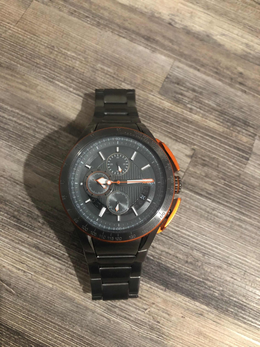 646c2998f2f5 reloj armani exchange ax1405 acero y deportivo 100% original. Cargando zoom.
