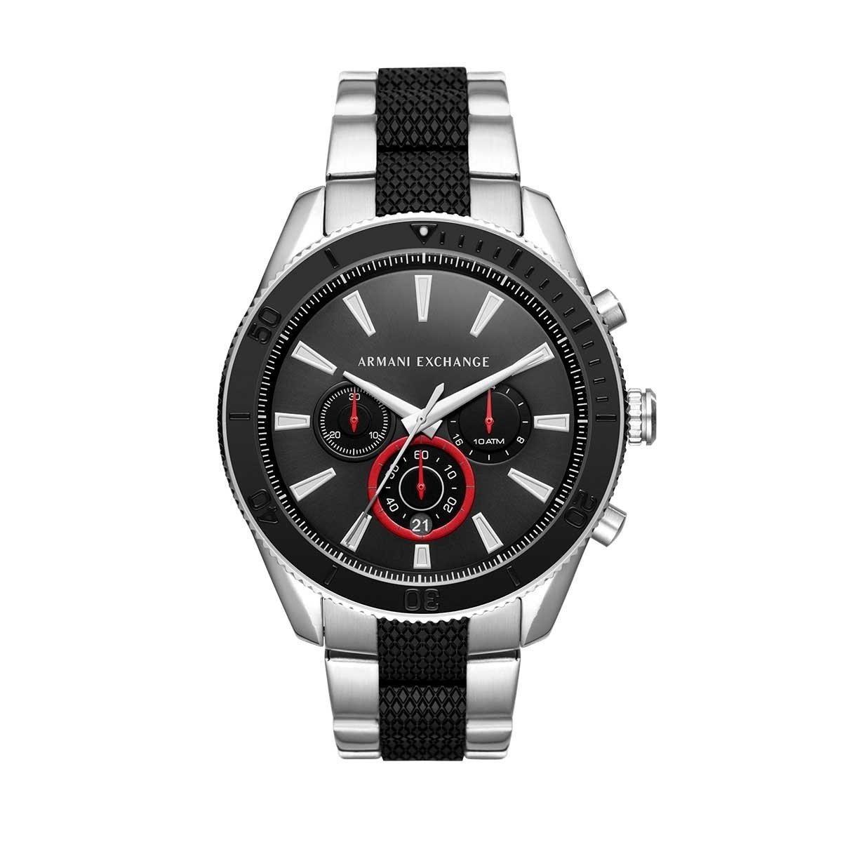 5c52a4951cd9 reloj armani exchange ax1813 platedo negro original p él. Cargando zoom.
