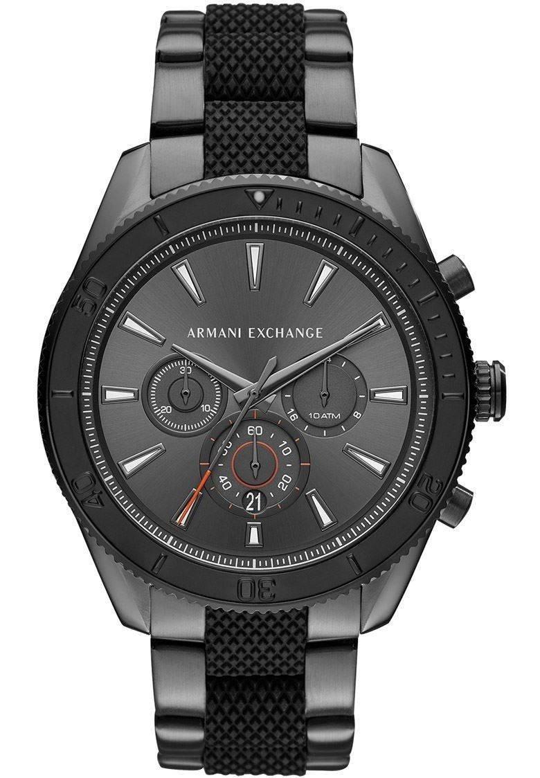 2fbbad532dc0 reloj armani exchange ax1816 crono gris negro para caballero. Cargando zoom.
