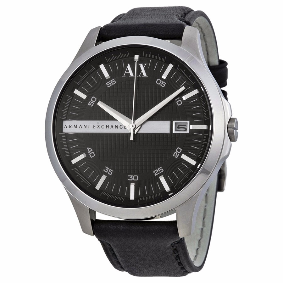 92e4b81ce950 reloj armani exchange ax2101 piel negro original d caballero. Cargando zoom.