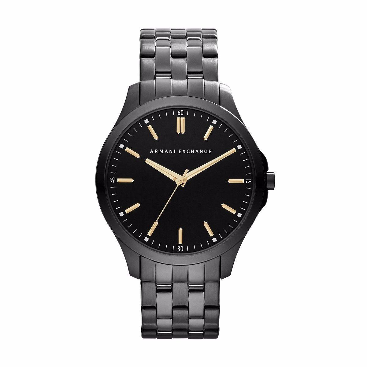 a62684b62dc1 reloj armani exchange ax2144 acero negro paracaballero. Cargando zoom.