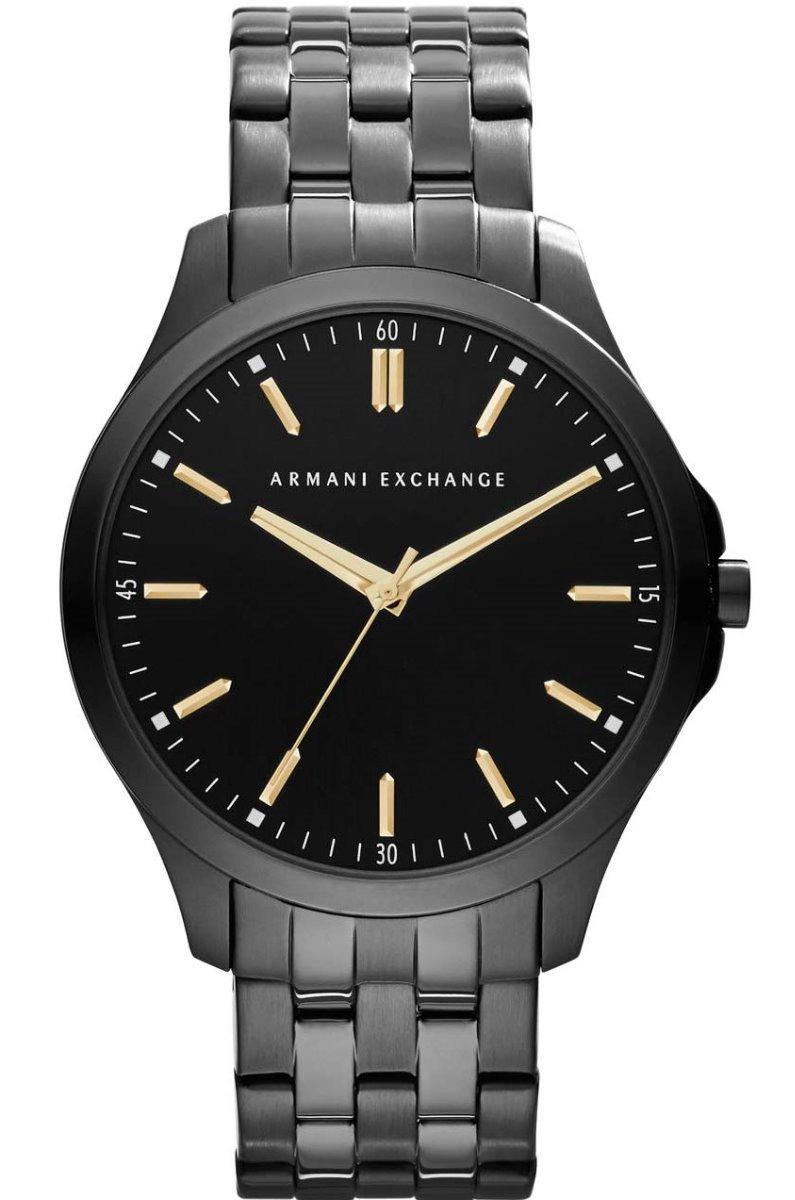 2123e00386f9 reloj armani exchange ax2144 acero negro dorado para hombre. Cargando zoom.