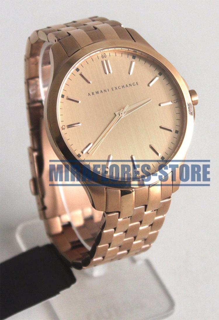 68ff9486b529 Reloj Armani Exchange Ax2146 Hampton Gold Para Caballero - S  699