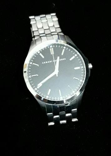 reloj armani exchange ax2147 negro cn acero original