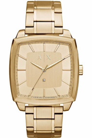 0c1351b06670 Reloj Armani Exchange Dorado - Relojes en Mercado Libre México