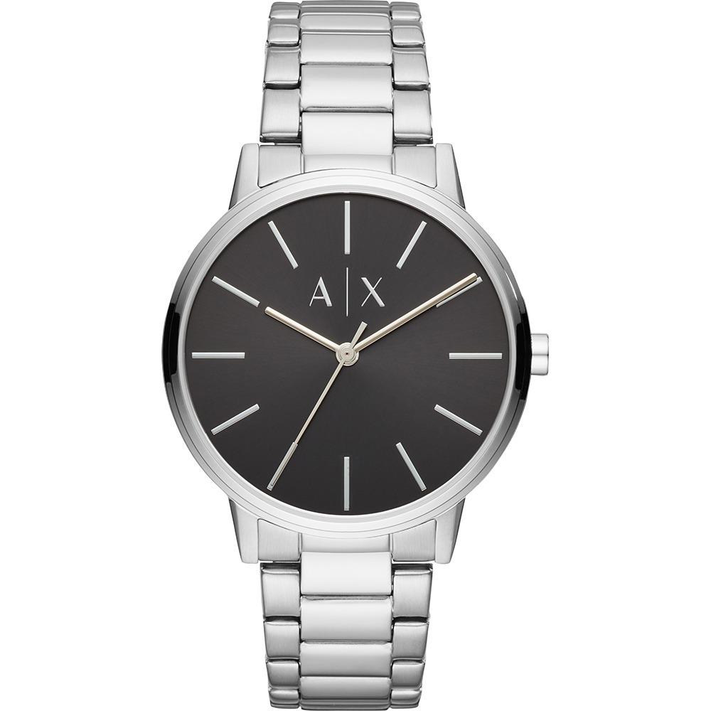 cca80c1465df reloj armani exchange ax2700 acero plateado para caballero . Cargando zoom.