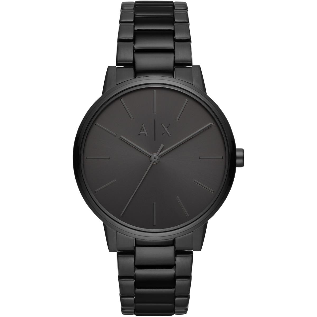 2e5d93404d76 reloj armani exchange ax2701 en acero negro para caballero . Cargando zoom.