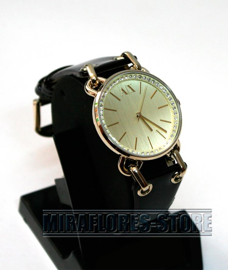 84e48fbea6cf reloj armani exchange ax3079 con correa de cuero para dama. Cargando zoom.