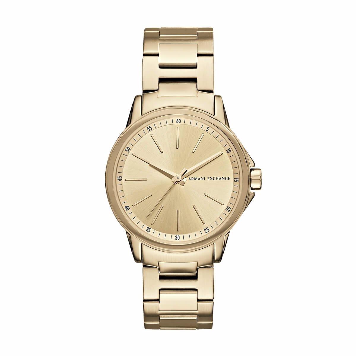 2580a51bcaec reloj armani exchange ax4346 acero inox. dorado de dama. Cargando zoom.