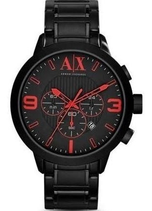 reloj armani exchange black mod. ax1352