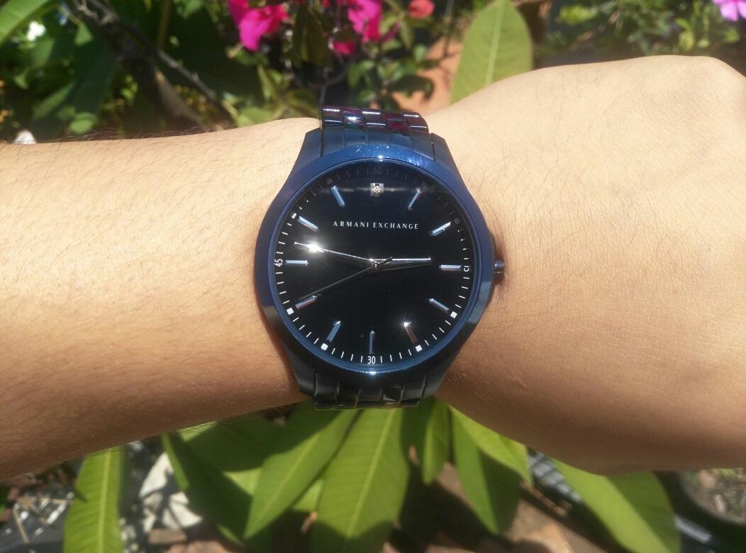 1ca7ad61a Reloj Armani Exchange Color Azul Marino. - $ 4,000.00 en Mercado Libre