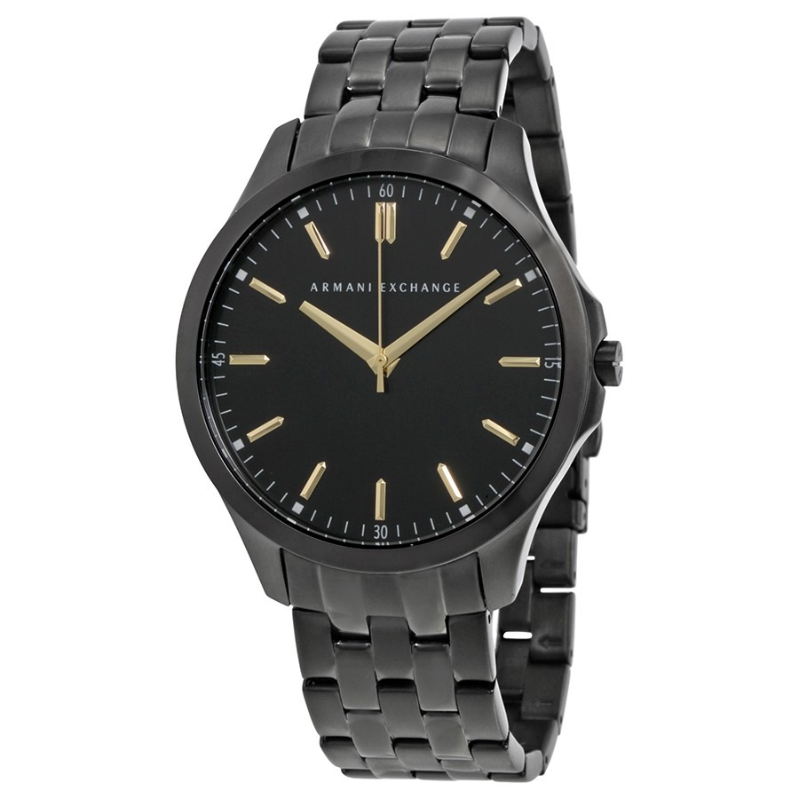 a09840a291a8 reloj armani exchange de hombre ax2144 original negro dorado. Cargando zoom.
