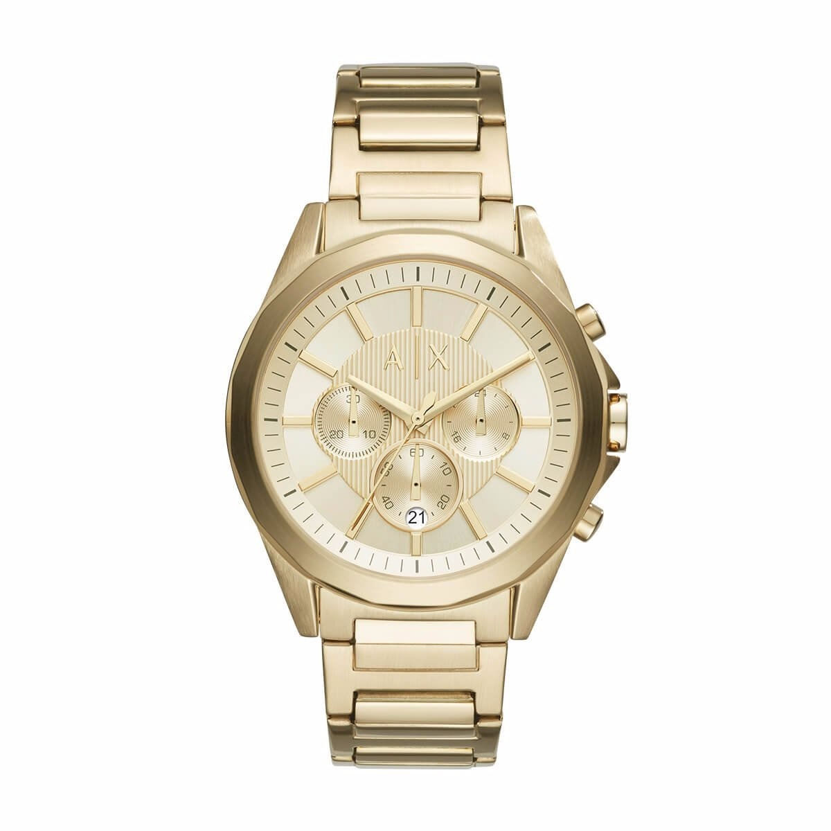 0be97c5c4c63 reloj armani exchange dorado cronógrafo ax2099 caballero. Cargando zoom.